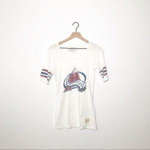 Retro Brand | Avalanche White Graphic Short Sleeve